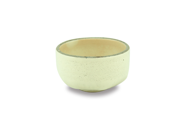 White matcha bowl - Chawan - made in Japan